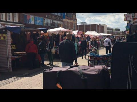 London Outdoor Barking Market, Barking Station London ,Pakistani mom ,Uk vlogs ,London