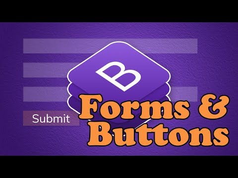 Bootstrap 4 Forms & Buttons   BOOTSTRAP 4 TUTORIAL
