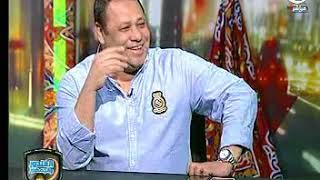 الغندور والجمهور - مداخلة محمد ابراهيم نجم الزمالك ورد فعل ضياء السيد