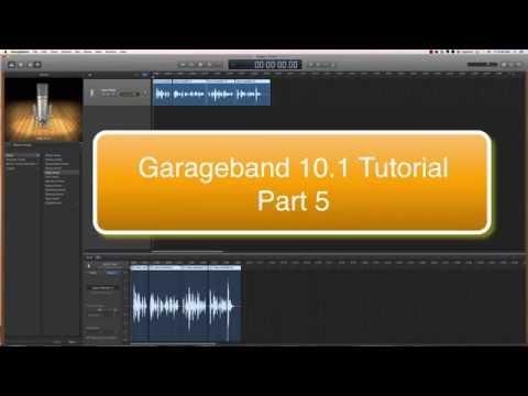 Garageband 10 Tutorial part 5: Adding a pre-recorded track