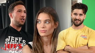 LANA RHOADES BOYFRIEND MIKE MAJLAK FLIPS OUT DURING INTERVIEW | Jeff's Barbershop