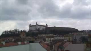 ミハエル(ミカエル)塔から眺めたブラティスラバの旧市街
