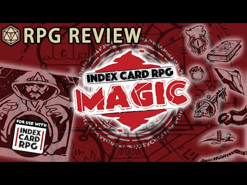 Index Card RPG Magic (Runehammer Games)(015) - YouTube
