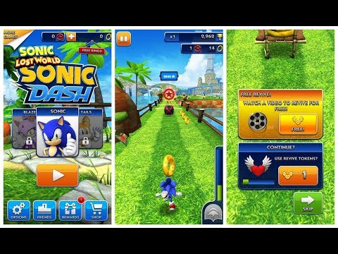 Sonic Dash Mod APK - All 25 Characters Unlocked & Fully Upgraded - Sonic Dash Hack Unlimited Rings