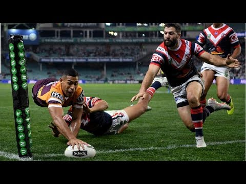 NRL Highlights: Sydney Roosters v Brisbane Broncos - Round 24