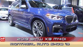 2019 BMW X3 M40i - Exterior And Interior - 2019 Montreal Auto Show
