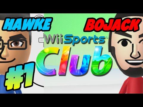 Hawke x Bojack: Wii Sports Club (Game 1 part 1; Bowling)