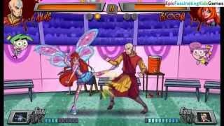 Bloom The Guardian Fairy VS Avatar Aang In A Nickelodeon Superhero Brawl 3 Good VS Evil Match