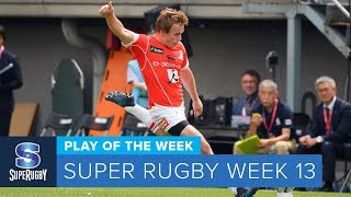 PLAY OF THE WEEK: 2018 Super Rugby Week 13