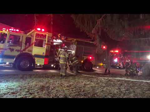 Wilkins Township Residential Structure Fire Arrival & Attack 1/7/19