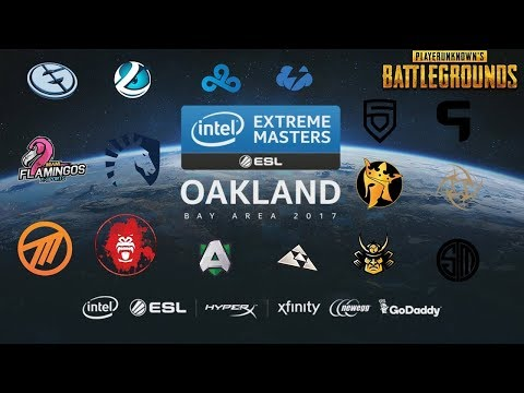 IEM Oakland PUBG Invitational - Squads  ( DAY 1 )