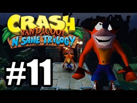 Crash Bandicoot N. Sane Trilogy - Crash 2 PS4 #11 - HEAVEN!