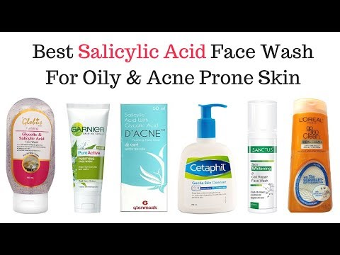 Best Salicylic Acid FaceWash in India with price 2019 I Facewash for Oily pimple and acne prone skin