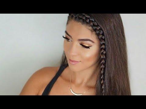 MERY💕| Cute School Hairstyles For long hair By *SHERRYMALDONADO*❤💙