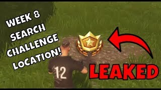 """""""Search Between a Bear, a Crater and a Refrigerator Shipment""""   Fortnite Week 8 Challenges"""