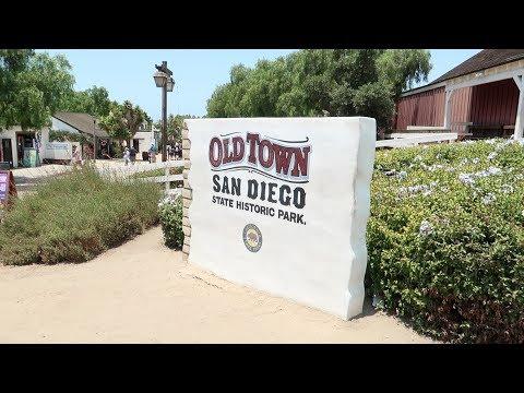 Old Town San Diego Birthday Trip, No Disneyland today