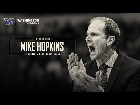 Introducing Mike Hopkins, University Of Washington Men's Basketball Head Coach