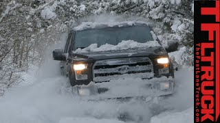 2015 Ford F-150 Off-Road Snowy 4X4 Review: Bashing through a Colorado Snowstorm
