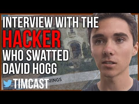 Interview With The Hacker Who Swatted David Hogg