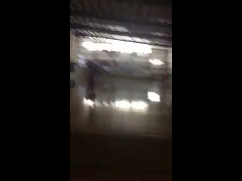 Kid fails with basket ball stunt and rollers skate tricks