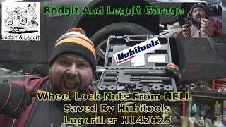 Wheel Lock Nuts From Hell Saved By Hubitools LugDriller HU42025 Bodgit And Leggit Garage