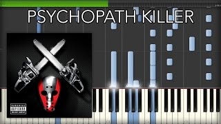 Download lagu Psychopath Killer - Slaughterhouse & Yelawolf feat. Eminem - PIANO TUTORIAL (+ Midi File)