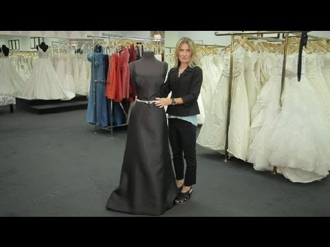 What Color Hose Goes With A Long Black Dress For A Winter Wedding