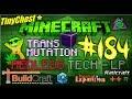 "Redled`s Minecraft Tech.-LP #184 ""Goldesel - Abfall wird zu Experience"" [TooManyMods;)]"