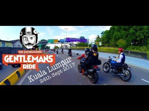 The Distinguished Gentleman's Ride 2017 - Kuala Lumpur, Malaysia | DGR2017 | DGRKL2017