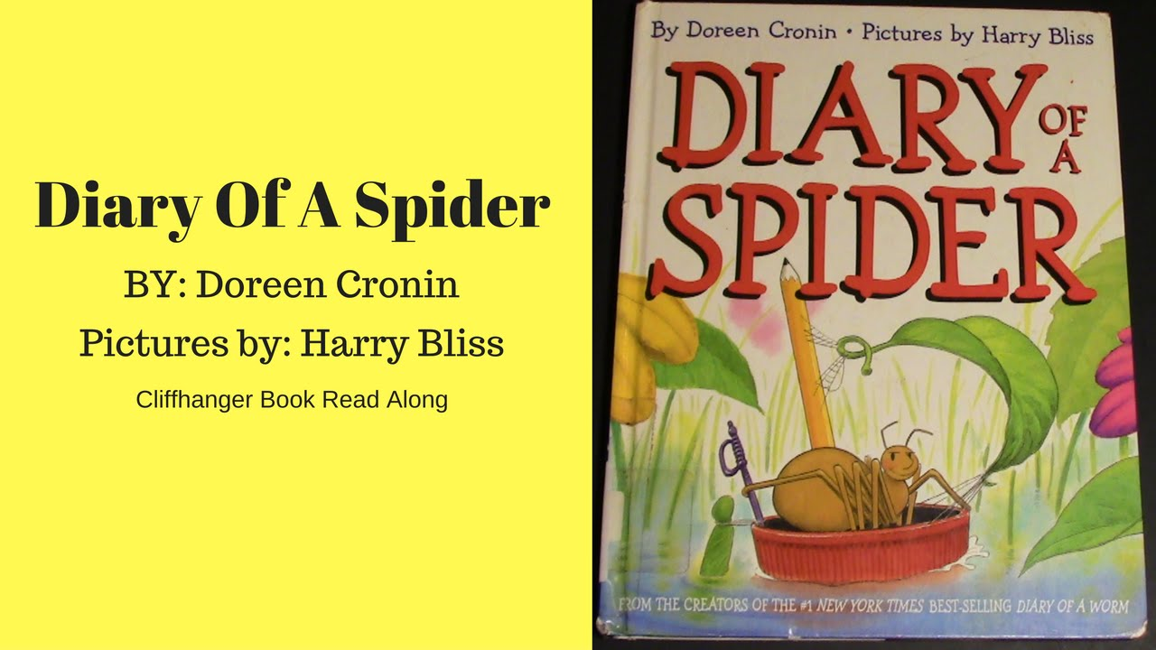 diary of a spider read aloud books for children bedtime stories