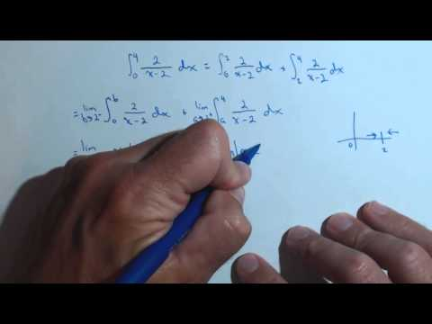 Calculating an Improper Integral that is Unbounded on Interval