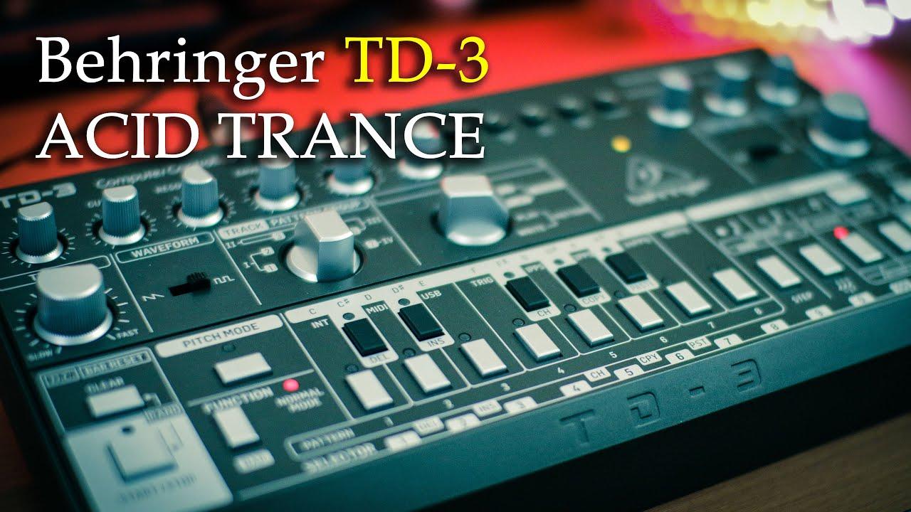 Oil Acid Trance // Behringer TD-3, Digitakt, Volca Sample