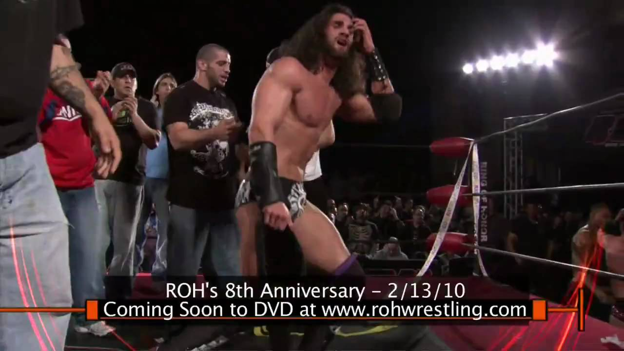 Ring Of Honor Cm Punk Vs Samoa Joe