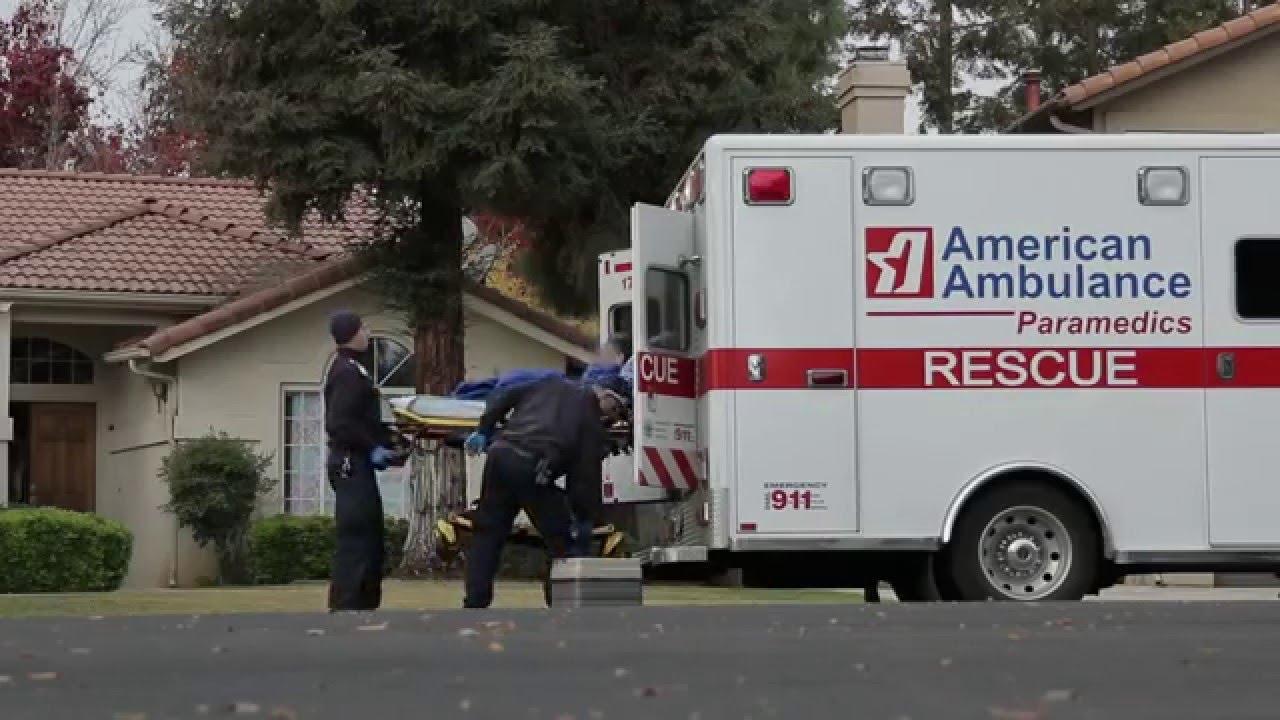 american ambulance paramedics