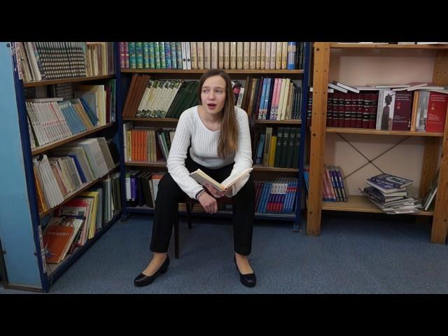 Изображение предпросмотра прочтения – АнастасияСмирнова читает произведение «Послушайте! (Послушайте! Ведь, если звезды зажигают…)» В.В.Маяковского