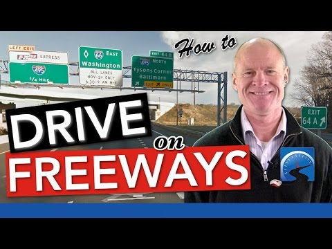 How to Navigate Interstates & Freeways | New Driver Smart