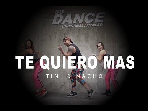 Te Quiero Más - Tini & Nacho I Coreografía Zumba Zin I So Dance