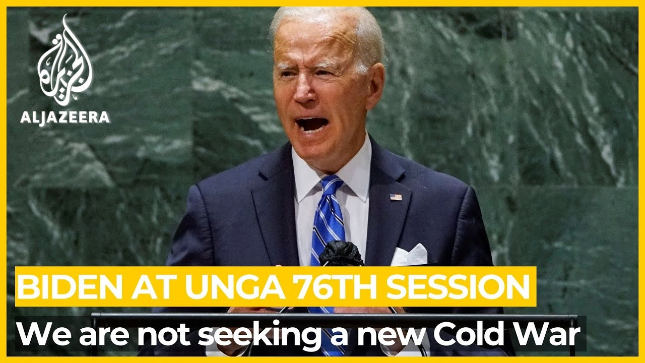 Download Biden at UN Assembly: We are not seeking a new Cold War