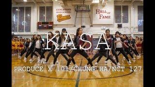 [KASA] PRODUCE X 101/청하(CHUNG HA)/NCT 127 | Cupertino High School Homecoming Rally 2019