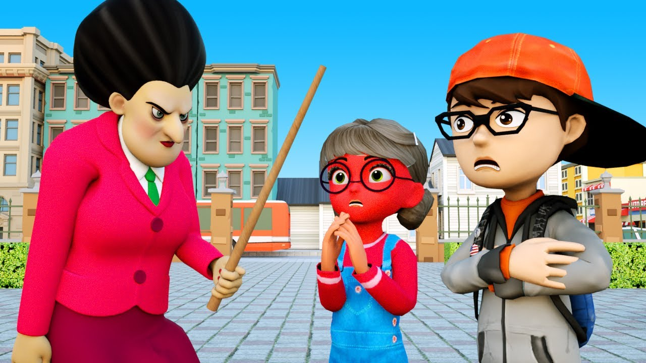 Download Naughty Bad Baby - Scary Teacher 3D Nick Troll Tani and MissT Funny Animation