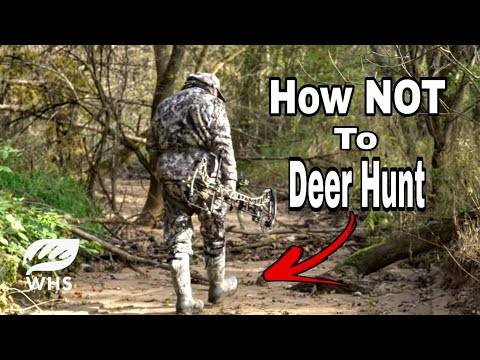 Top 10 Deer Hunting Mistakes