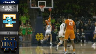 Tennessee vs. Notre Dame Condensed Game | 2019-20 ACC Women