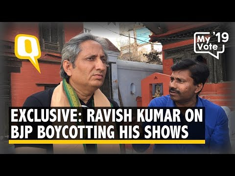 Ravish Kumar to the Quint: One Person Has Sent the BJP Into Panic | The Quint