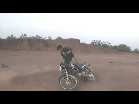 Siddapur uk bike stunt