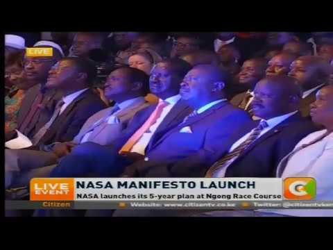 NASA launches manifesto
