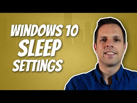 How To Stop Your Screen Going To Sleep In Windows 10