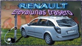 RENAULT Laguna II, elevalunas trasero