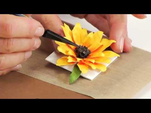 How to Use Sizzix Bigz Black-Eyed Susan Flower Die 658422