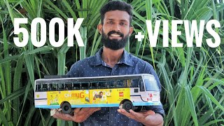 Miniature Bus Making| Irfan Thalassery