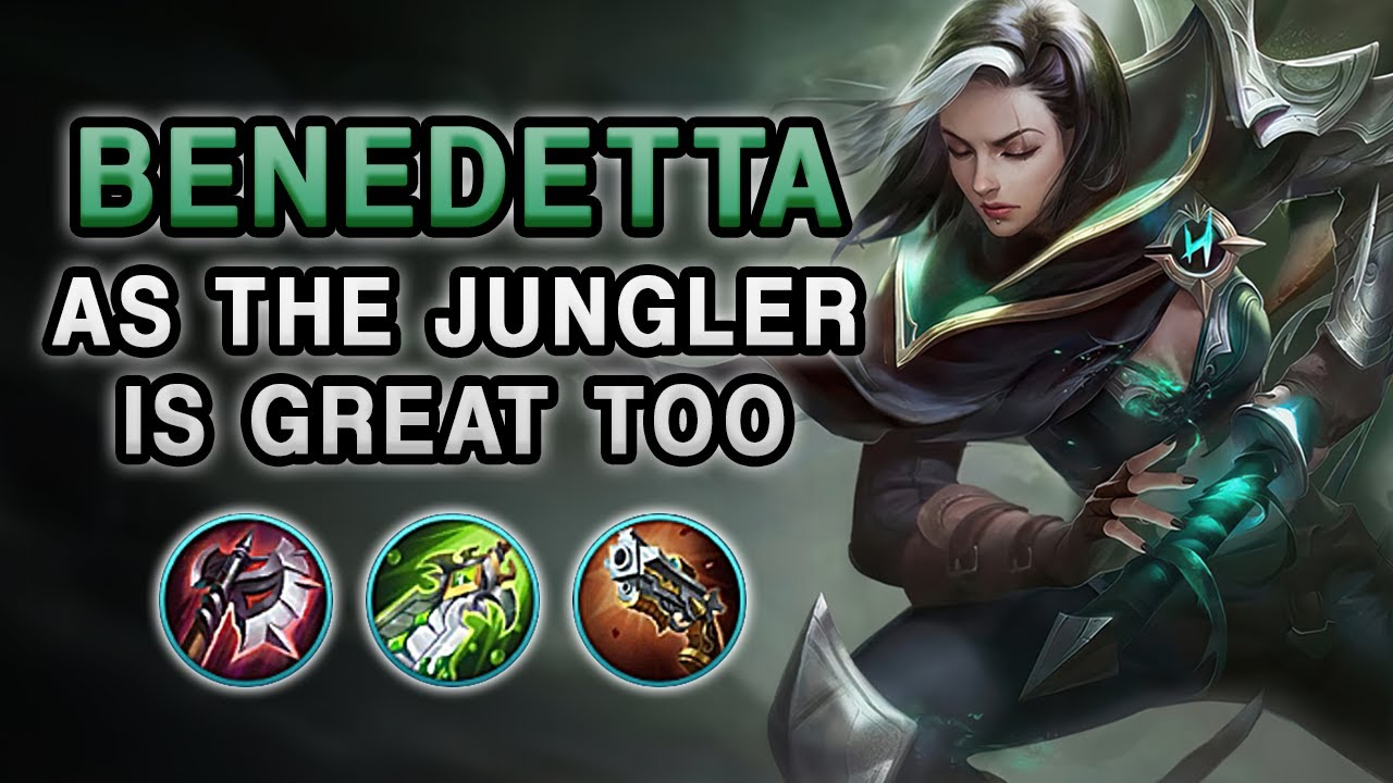 BENEDETTA AS THE JUNGLER IS GREAT TOO | Mobile Legends